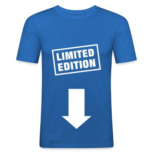 Limited Edition Shirt - Männer Slim Fit T-Shirt