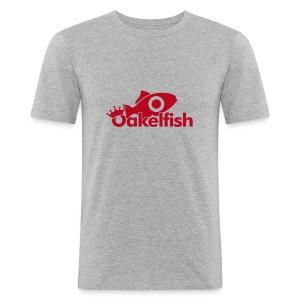 Red Fish - Men's Slim Fit T-Shirt