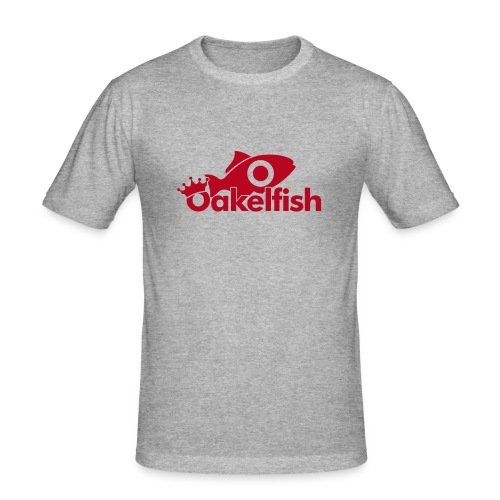 Red Fish - Men's Slim Fit T-Shirt