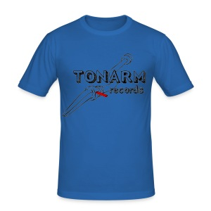 Tonarm Slim Fit T-Shirt - Männer Slim Fit T-Shirt