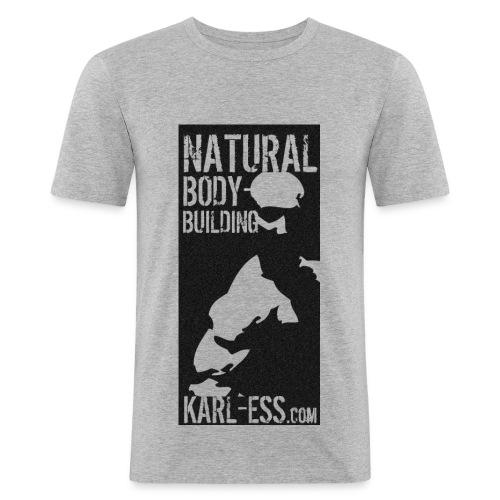 Karl Ess NB 3 - Männer Slim Fit T-Shirt