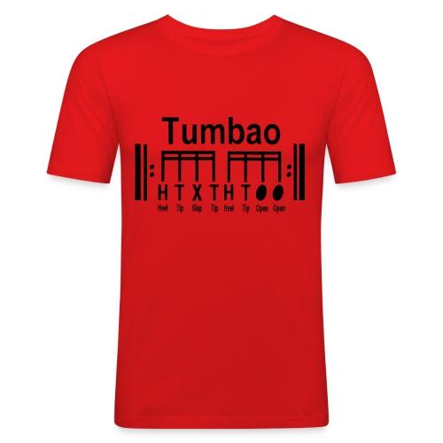 Camiseta slim fit tumbao - Camiseta ajustada hombre