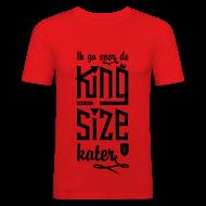T-shirts ~ slim fit T-shirt ~ King size Kater