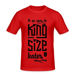King size Kater - slim fit T-shirt