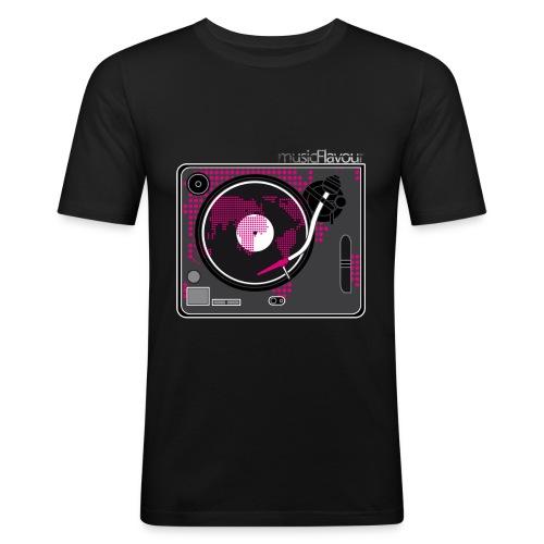 Disco musicFlavour - Maglietta aderente da uomo