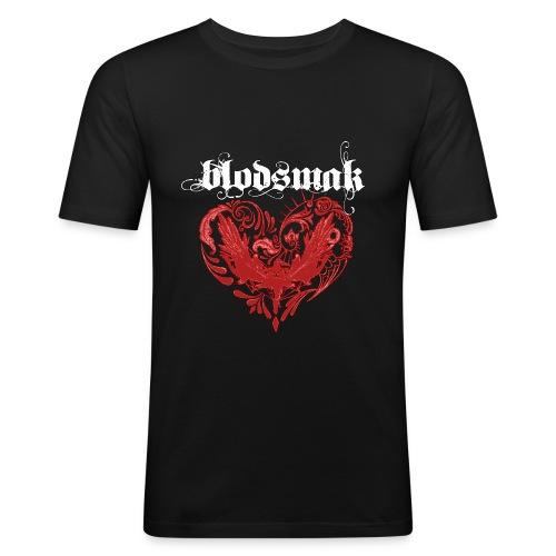 Blodsmak Slim Fit - Slim Fit T-skjorte for menn