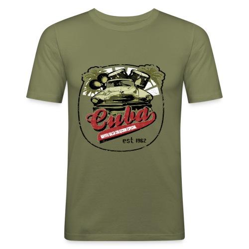 Camiseta slim fit cuba 1962 - Camiseta ajustada hombre