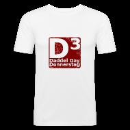 T-Shirts ~ Männer Slim Fit T-Shirt ~ DDD Shirt