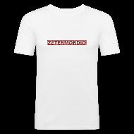 T-Shirts ~ Männer Slim Fit T-Shirt ~ Zetermordio