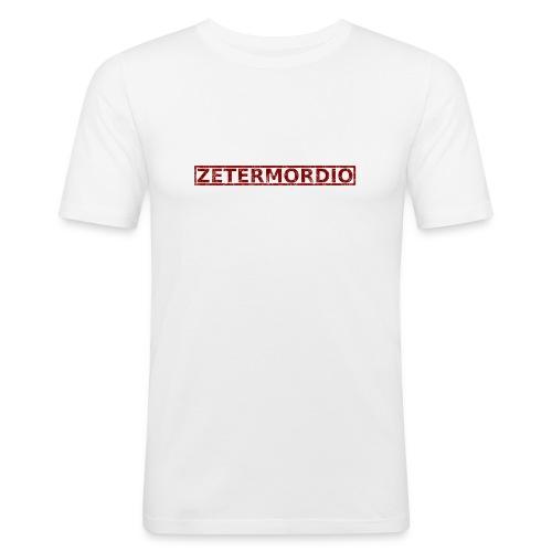 Zetermordio  - Männer Slim Fit T-Shirt