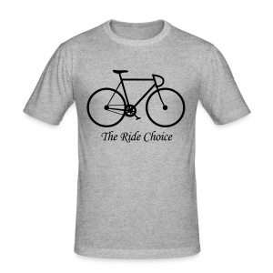 The Ride Choice! - Männer Slim Fit T-Shirt