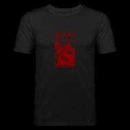 T-Shirts ~ Männer Slim Fit T-Shirt ~ LAN Gaming Shirt