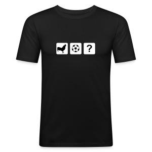 Logo T-Shirt Yellow - Men's Slim Fit T-Shirt