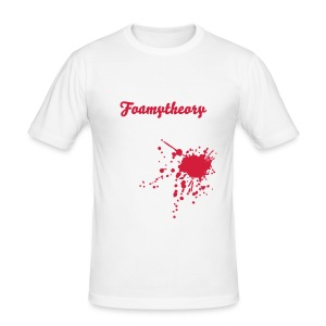 Foamytheory Bloodsplatter - Men's Slim Fit T-Shirt