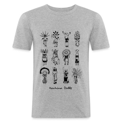 Homme slim - Kachina dolls - T-shirt près du corps Homme
