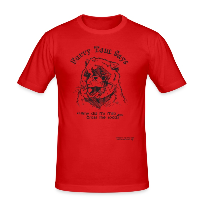 Furry Tom (inspired by Last Boy Scout) - Men's Slim Fit T-Shirt