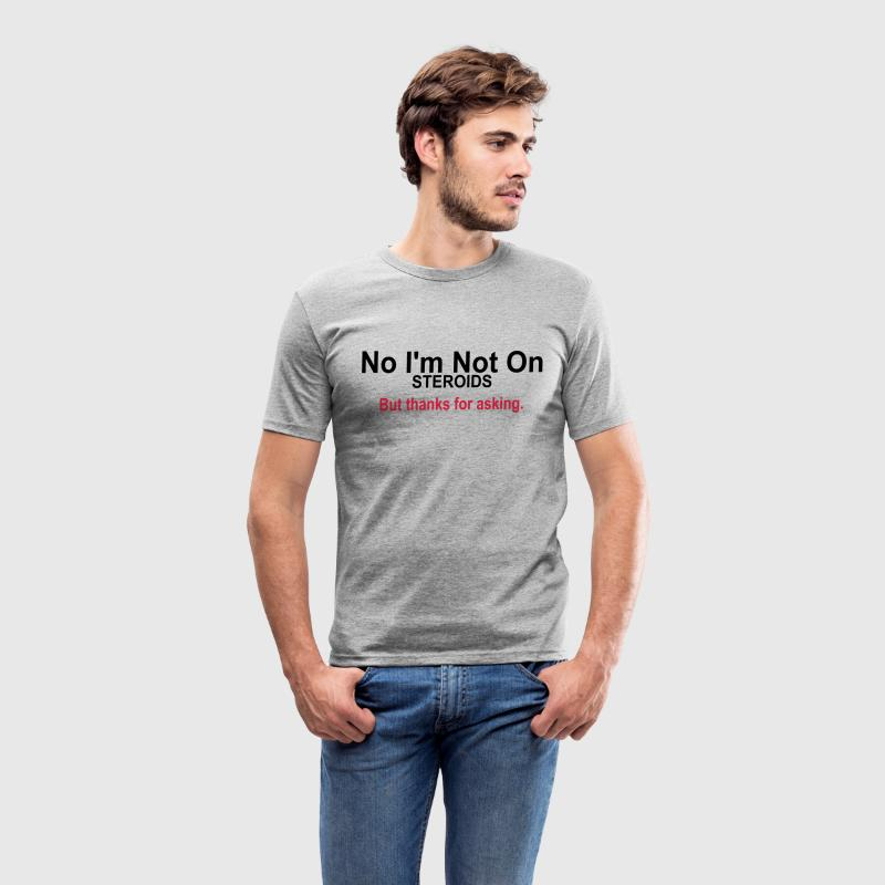 Thanks for Asking T-shirts - Slim Fit T-shirt herr