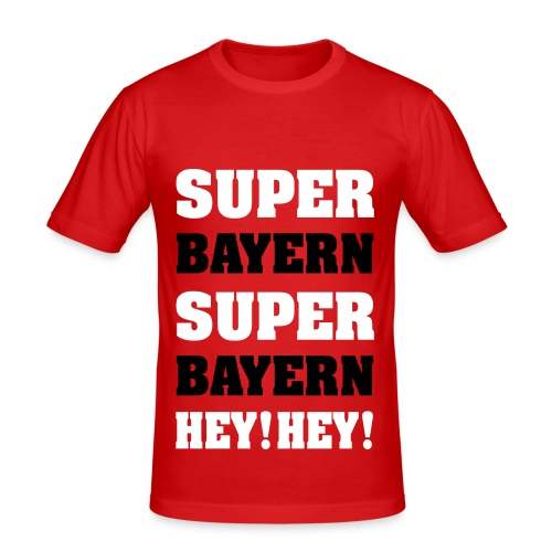Superbayern - Männer Slim Fit T-Shirt