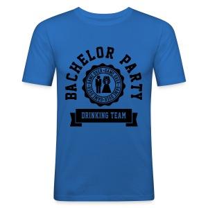 Mens Bachelor Party Tee - Men's Slim Fit T-Shirt