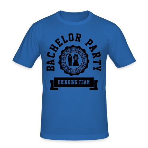 Mens Bachelor Party Tee - Men's Slim Fit T-Shirt