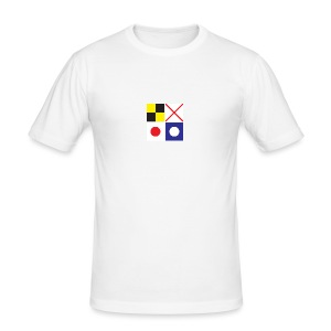 LV21 SIGNAL FLAG TSHIRT - Men's Slim Fit T-Shirt