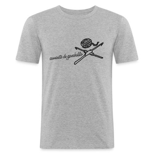 CdG H3 (ed. logo brillante) - Camiseta ajustada hombre