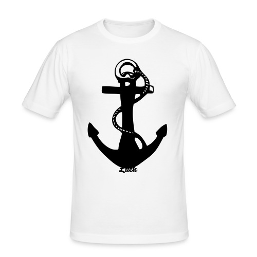 Exclusive Luck ANCHOR LUCK - Men's Slim Fit T-Shirt