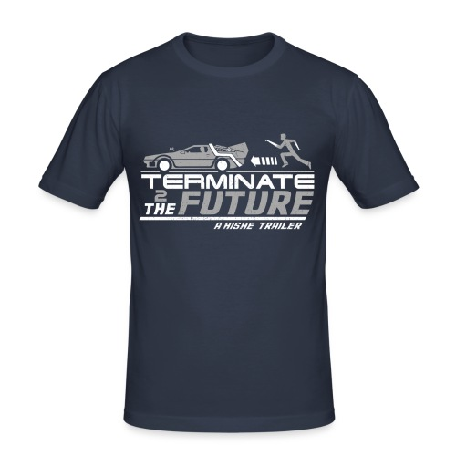 Terminate to the Future - Men's Slim Fit T-Shirt