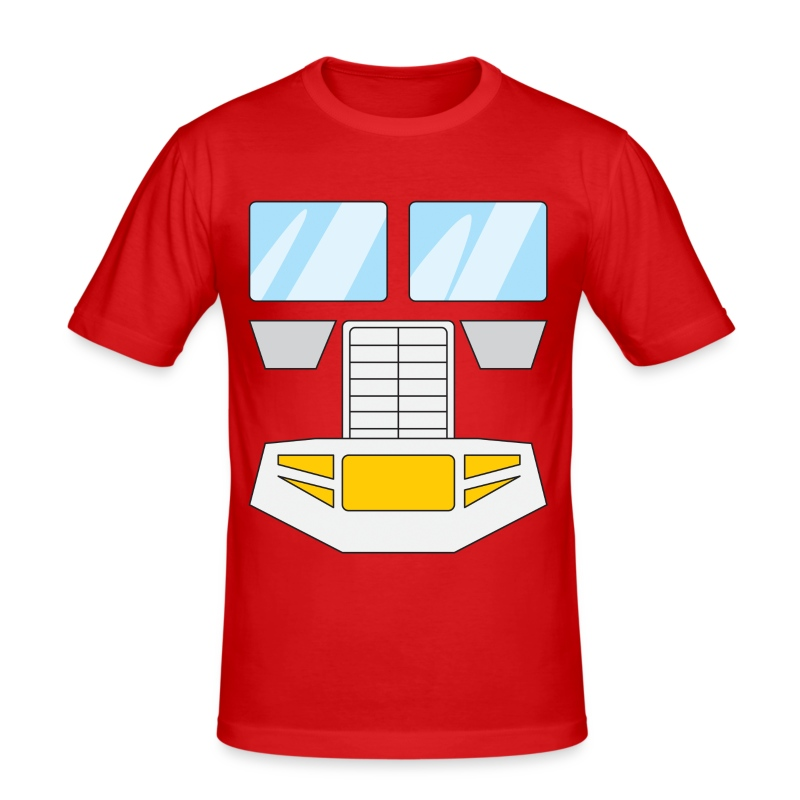 Prime (inspired by Transformers 80s) - Men's Slim Fit T-Shirt