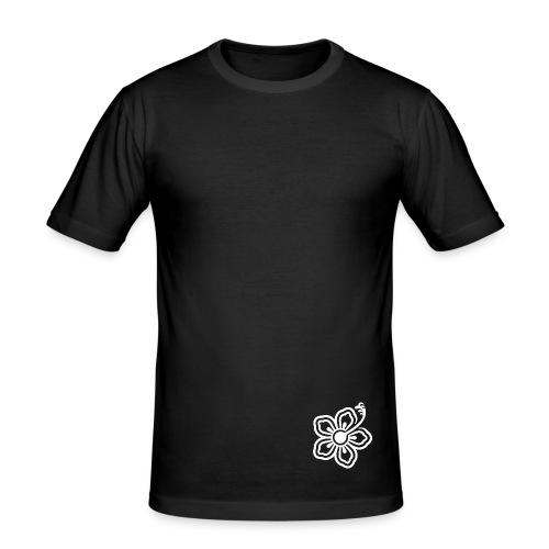 T-Shirt m (black) - Männer Slim Fit T-Shirt