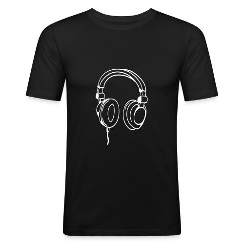 t-shirt music - Maglietta aderente da uomo