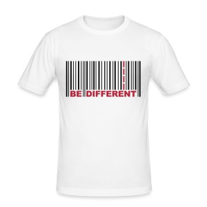 Be Different - Men's Slim Fit T-Shirt