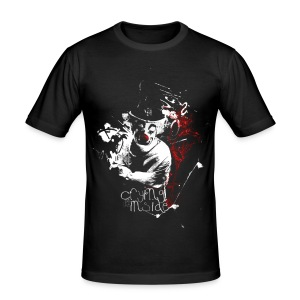 Crying on the Inside - Men's Slim Fit T-Shirt