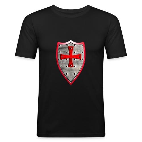 Schild - Männer Slim Fit T-Shirt