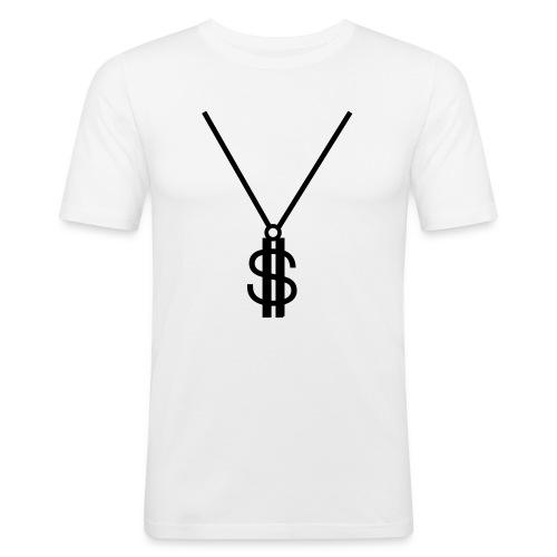t shirt american rap  - Maglietta aderente da uomo