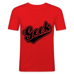 Geek - Men's Slim Fit T-Shirt