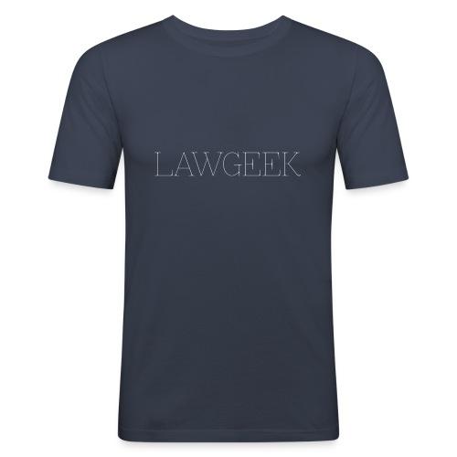 Retro Lawgeek - T-shirt près du corps Homme