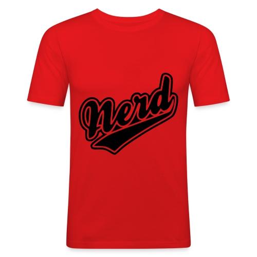 Nerd - Men's Slim Fit T-Shirt