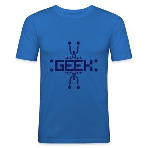 Geek 2 - Men's Slim Fit T-Shirt