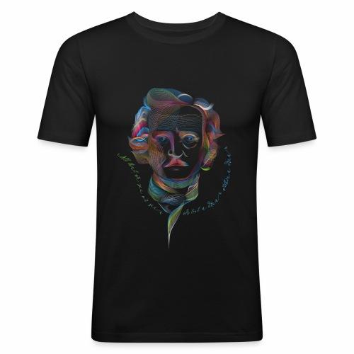 Edgar Allan Poe - Maglietta aderente da uomo