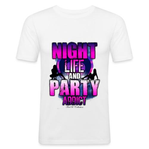 Night Party L.S.P - T-shirt près du corps Homme