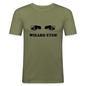 WIZARD EYES - Men's Slim Fit T-Shirt