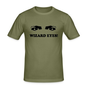 WIZARD EYES - Men's Slim Fit T-Shirt