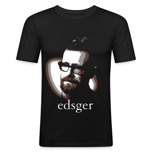 Edsger Men's T-Shirt - Men's Slim Fit T-Shirt