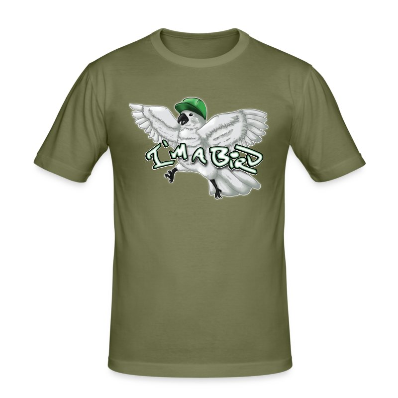 I'M A BIRD - Men's Slim Fit T-Shirt