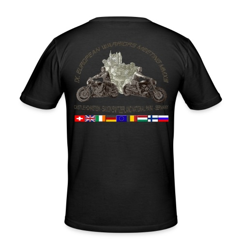 Warriortreffen 2013 - Slim-Fit-Shirt - Männer Slim Fit T-Shirt