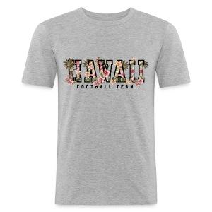 HAWAII FOOTBALL TEAM - Men's Slim Fit T-Shirt