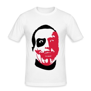 Zed Face - Männer Slim Fit T-Shirt