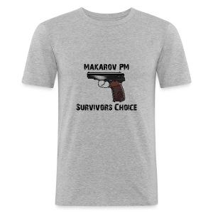 Makarov  - Männer Slim Fit T-Shirt