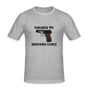 Makarov  - Männer Slim Fit T-Shirt